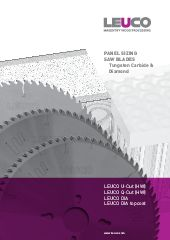 Panel sizing saw blades, Program, HW, U-Cut, Q-Cut, DP, DP topcoat