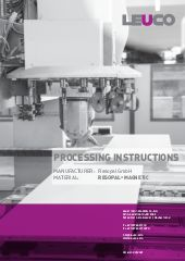 Processing instruction RESOPAL® MAGNETIC