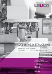 Processing instruction senosan TopX Acryl Glass Clear