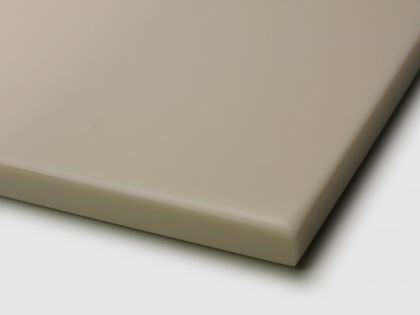 Example: solid-core panel with  drum profile