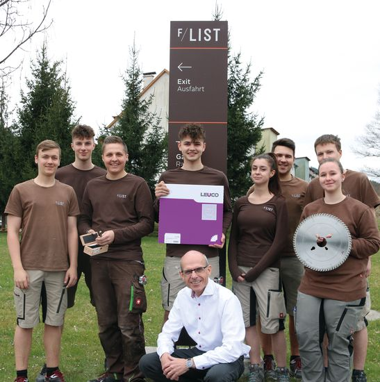 LEUCO trains apprentices at F/LIST