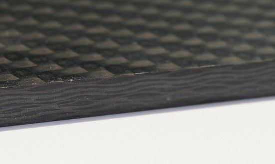 Carbon fiber materials have been in use at F/LIST for many years. F/LIST achieves smooth edges with the LEUCO p-System with a 70° shear angle.