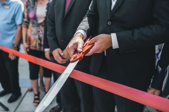 Leuco Tool Corporation Ribbon Cutting Ceremony