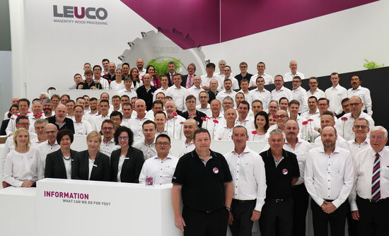 Magentify Wood Processing: Thank you for visiting the LEUCO booth in Hanover!