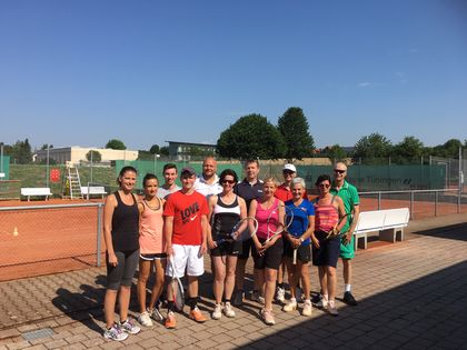 The LEUCO mixed tournament was held at midsummer-like temperatures.