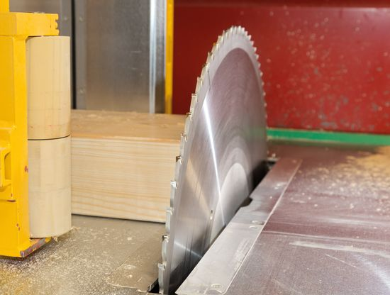 The saw blade offers the benefit of a very low noise level and up to 30% longer service life.