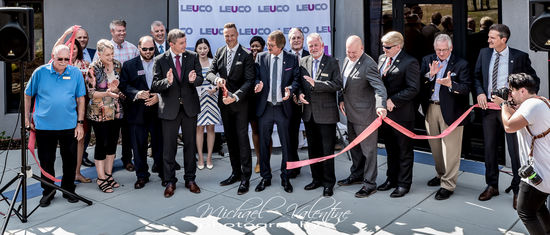 LEUCO Management along with State and City Delegates celebrate Grand Opening of the expansion of headquarters