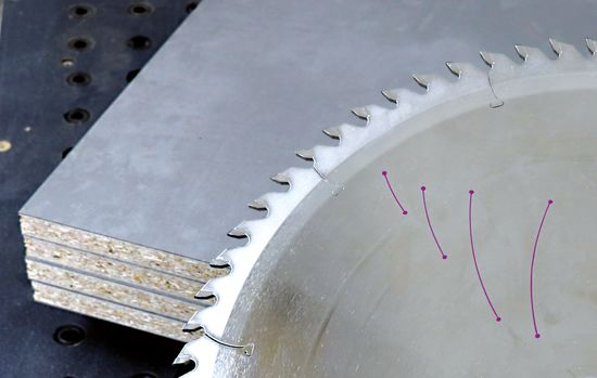 "LEUCO is now offering all diamond-tipped panel sizing saw blades with an optional ""LEUCO topcoat"" on the tooth sides. Customers thus achieve edge lives for all applications never before seen in the industry."